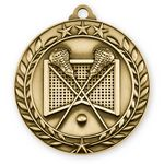 Custom 3D Sports & Academic Medal / Lacrosse