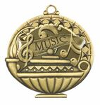 Custom Scholastic Medals - Music