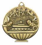 Custom Scholastic Medals - Spelling Bee