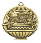 Custom Scholastic Medals - Star Performer