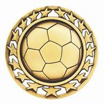 Custom Soccer General Medal