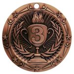 Custom Victory Line Medals / Third Place