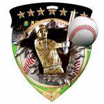 Custom Color Burst Medals/Baseball