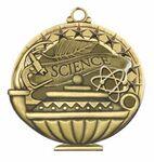 Custom Scholastic Medals - Science