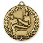 Custom 3D Sports & Academic Medal / Gymnastics Male