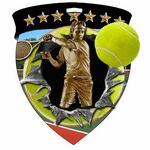 Custom Color Burst Medals/Tennis