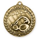 Custom 3D Sports & Academic Medal / Swimming