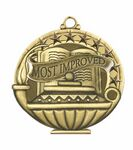 Custom Scholastic Medals - Most Improved