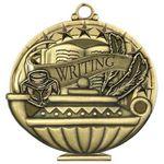 Custom Scholastic Medals - Writing