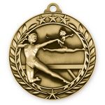 Custom 3D Sports & Academic Medal / Gymnastics Female