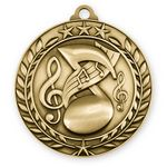 Custom 3D Sports & Academic Medal / Music