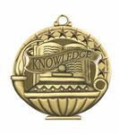 Custom Scholastic Medals - Knowledge