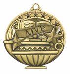 Custom Scholastic Medals - MVP