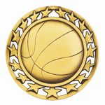 Custom Basketball General Medal