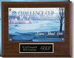 Custom Custom Cherry Finish Plaque