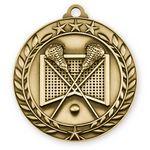 Custom 3D Sports & Academic Medal / Lacrosse
