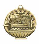 Custom Scholastic Medals - Social Studies