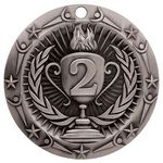 Custom Victory Line Medals / Second Place