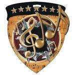 Custom Color Burst Medals/Music