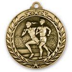 Custom 3D Sports & Academic Medal / Cross Country