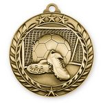 Custom 3D Sports & Academic Medal / Soccer