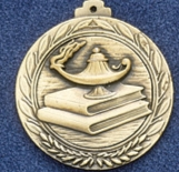 2.5 Stock Cast Medallion (Knowledge)