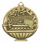 Custom Scholastic Medals - Mathematics