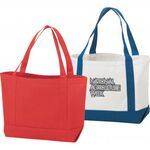 Custom Durable Canvas Tote Bag (Solid)