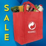 Custom Reusable Eco Friendly Polypropylene Tote Bag (15.5