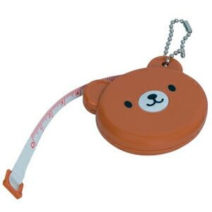 "Bear Tape Measure w/ Bead Chain (60"" Blade)"