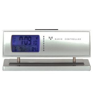 Digital Auto-Update Desk Clock w/ 4 Time Zone Display