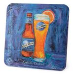 Custom Medium Weight Round or Square Coaster (3.5