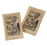 Custom Sugar Packet w/ Brown Raw Cane Sugar Packet (1 Color)