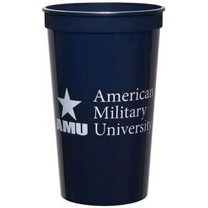 22 Oz. Smooth Colored Stadium Cup