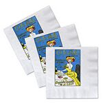Custom QuickShip 2-Ply Facial Beverage Napkin