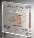 Custom Plexi Glass Square Embedment Award