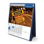 Custom Flip Calendar w/Name Personalization (Tall)
