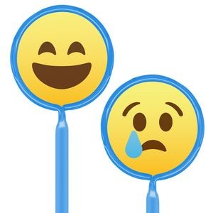 Inkbend Standard Billboard Pens W/ Emoji Laughing / Sad Stock Insert