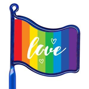 Inkbend Standard Billboard Pen w/ Rainbow Love Flag Stock Insert