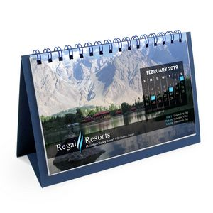 Flip Calendar w/Custom Photos (Short)