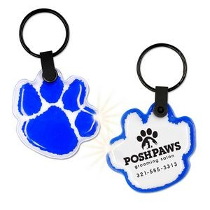 ShapeLights™ Imprint-A-Shape Key Ring Flashlight (Paw)
