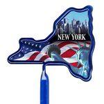 Custom Inkbend Standard Billboard Pens W/ New York Stock Insert