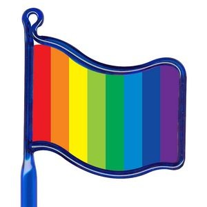 Inkbend Standard Billboard Pen w/ Rainbow Flag Stock Insert