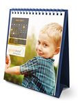Custom Flip Calendar w/Custom Photos (Tall)