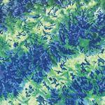 Custom Standard Blue & Green Tie-Dye Bandanna