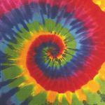 Custom Standard Rainbow Tie-Dye Bandanna