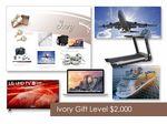 Custom $2000 Gift of Choice Ivory Level Gift Booklet