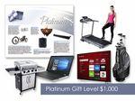 Custom $1000 Gift of Choice Platinum Level GoGreen eNumber