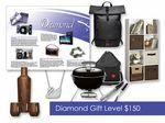 Custom $150 Gift of Choice Diamond Level Gift Booklet
