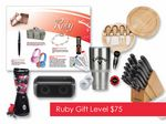 Custom $75 Gift of Choice Ruby Level Gift Booklet